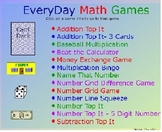 Collection of EveryDay Math Games (Promethean Flipchart)