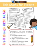 Collection of 8 Help Sheets for Parents & Educators