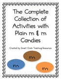 Collection of Math Activities with Plain m & m Candies!