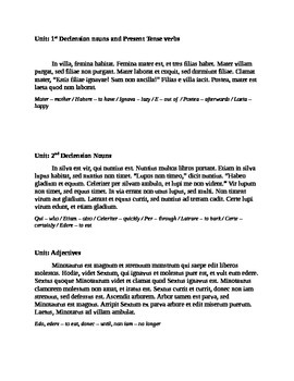 Collection of Paragraph Assessment Stories (Latin I)