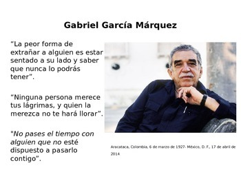 Collection of Quotes by Famous Latin American Figures. Hispanic Heritage Month!