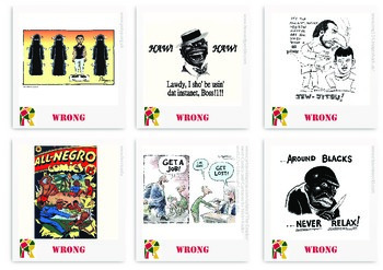 Collection of Racist cartoons
