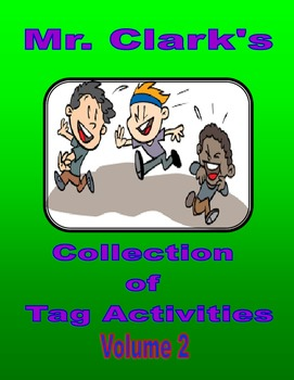Collection of Tag Activities Volume 1-4 Bundled