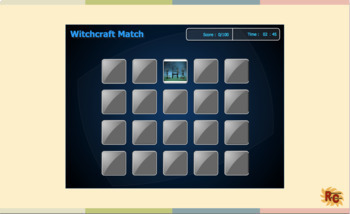 Halloween Interactive Games and Puzzle Bundle Grade 1-5