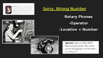 Collections: Sorry, Wrong Number PowerPoint