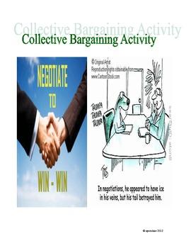 Collective Bargaining Activity: Labor vs. Management!