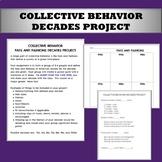Collective Behavior: Decades Project