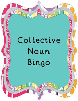 Collective Noun Bingo