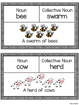 Collective Noun Charts