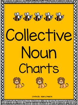 Collective Noun Charts