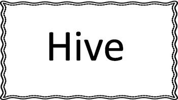 Collective Noun Flash Cards