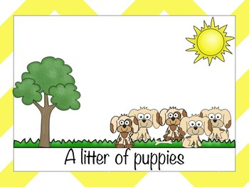 Collective Noun Posters & Worksheets