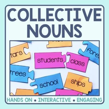 Collective Noun Matching Puzzles