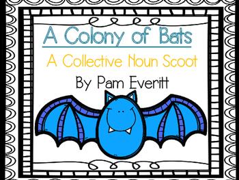Collective Noun Scoot (Bat themed)