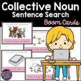 Collective Noun Sentence Search Boom Cards
