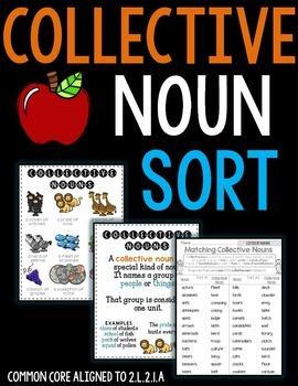Collective Noun Sort