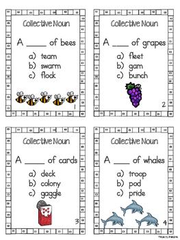 Collective Noun Task Cards