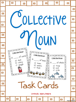 Collective Noun Task Cards