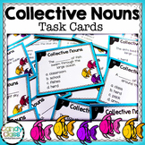 Collective Noun Task Cards - For Center Activities - L.2.1.A