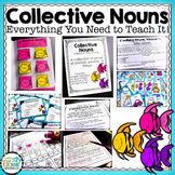 Collective Nouns -Everything You Need (Lesson, Activities