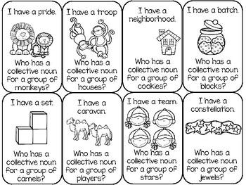 Collective Nouns Game
