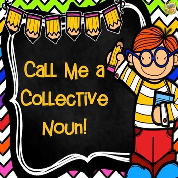 Collective Nouns - 4 Days of Activities including a CRAFTIVITY!