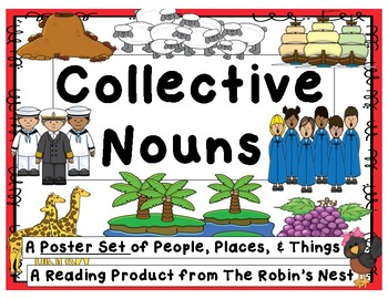 Collective Nouns:   40 Posters for People, Places, and Things