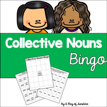 Collective Nouns Bingo Game