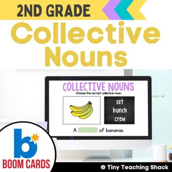 Collective Nouns Boom Cards