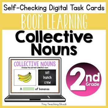 Collective Noun Boom Cards Distance Learning