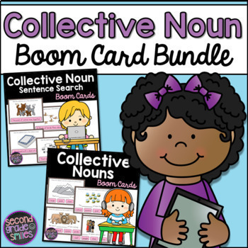 Collective Nouns Boom Cards Bundle