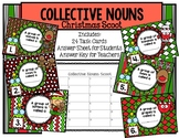 Collective Nouns Christmas Task Cards Scoot