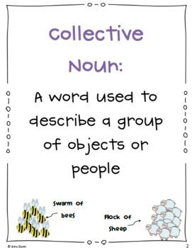 Collective Nouns {Common Core (CCSS) 2.L.1 a}