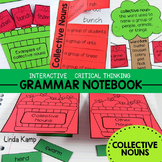 Collective Nouns Critical Thinking Interactive Notebook