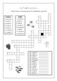 Collective Nouns Crossword Puzzle