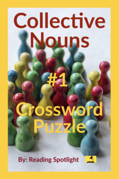Collective Nouns Crossword Puzzle