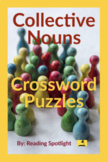 Collective Nouns Crossword Puzzles Bundle (Distance Learning)