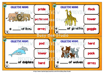 Collective Nouns | Easy Grammar for Young Learners and ESL Kids