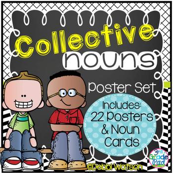 Collective Nouns Focus Wall Display & Poster Set  L.2.1a