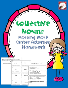 FREE Collective Nouns - Center Activities