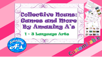 Collective Nouns: Games and More