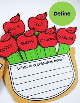 Collective Nouns Grammar Craft (A Bushel of Collective Nouns)