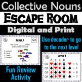 Collective Nouns: Grammar Escape Room - English