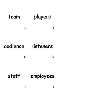 Collective Nouns Grammar Game 3