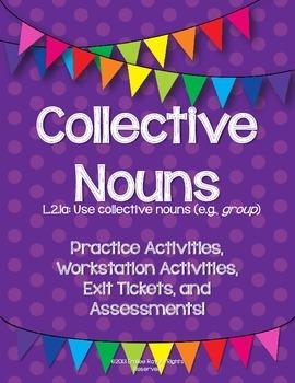 Collective Nouns - L2.1.a {Common Core Aligned}
