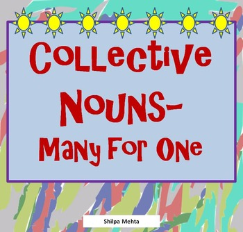 Collective Nouns - Many for One