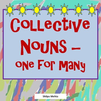 Collective Nouns - One for Many
