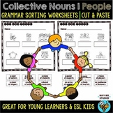 Collective Nouns (People) | | Cut and Paste Worksheets