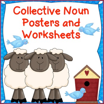 Collective Nouns - posters and worksheets -... by Nyla's Crafty ...