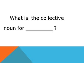 Collective Nouns   PowerPoint